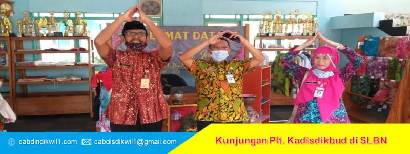 Kunjungan Plt. Kadisdikbud di SLBN Semarang