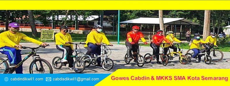 Gowes Cabdin dan MKKS SMA Kota Semarang