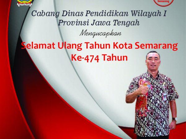 Selamat HUT Kota Semarang Ke 474